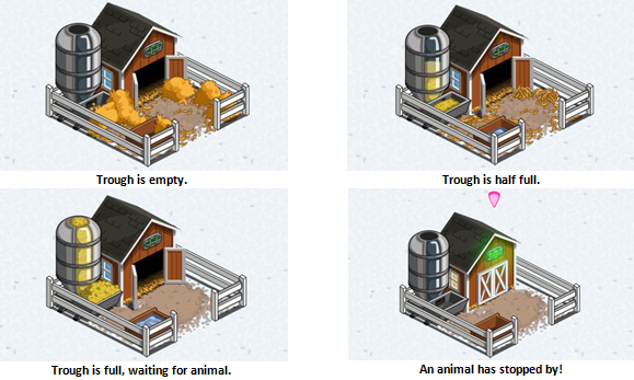 farmville feed trough stages