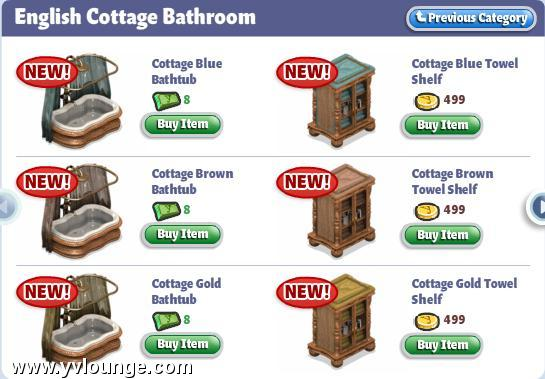 yoville english cottage bathroom furniture