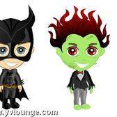 YoVille Halloween costumes: Dress your avatar as a zombie, superhero and more