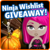 YoVille Trick-Or-Treat Giveaway - Earn items from your wishlist for free