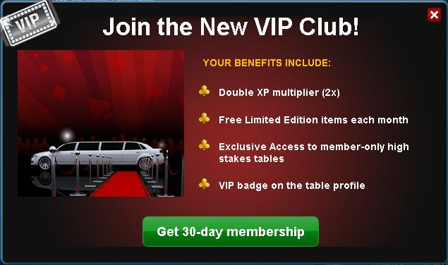 Zynga Poker VIP Club