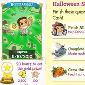 Treasure Isle: 10,000 Island Cash Giveaway for finishing Halloween quests