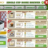 Cafe World Coffee Machine upgraded with limited time brews