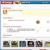 Zynga updates Zynga Messaging Center in Cafe World (again)