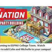 ESPNU College Town and SportsNation throw a pool party on campus