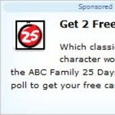 Earn 2 free FarmVille Farm Cash in ABC Family Christmas promotion