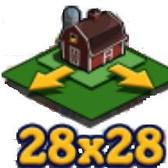 FarmVille 28 x 28 Land Expansion sneak peek