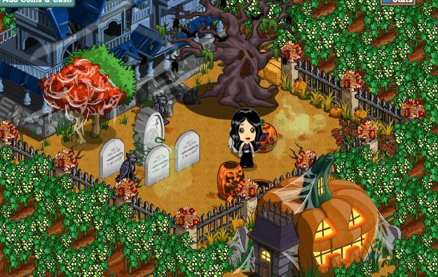 farmville halloween decor poll