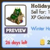 FarmVille Winter Holiday Buildings: Holiday PO & Winter Station