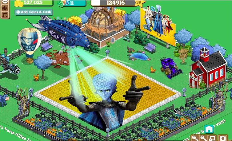 megamind farmville farm - blog.games.com