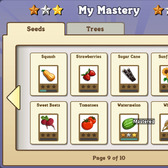 FarmVille My Mastery function tracks farming prowess