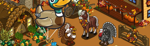 farmville thanksgiving