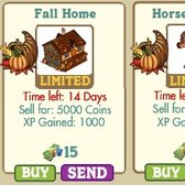 FarmVille: Thanksgiving Buildings/Decorations now available