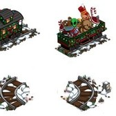FarmVille Sneak Peek: Holiday Train & Winter Train Tracks