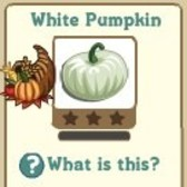 New FarmVille Limited Edition Crop: White Pumpkin