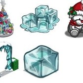 FarmVille Sneak Peek: Ornament Fountain, Pink Winter Tree, Icy Archway, & More