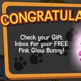 Happy Pets: Get a free Pink Glow Bunny today only