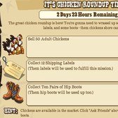 New FrontierVille mission: It's Chicken Roundup Time!
