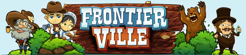 frontierville logo blog.games.com