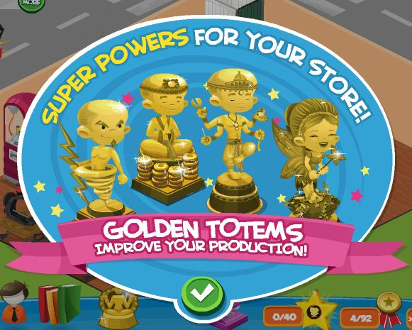 Fashion World Golden Totems