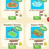 Happy Island Islets on sale - Add attractions for less coins for a limited time!