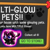 Happy Pets Multi-Glow Pets are pretty in pink (and blue)!