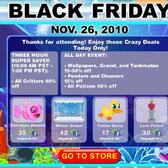 Happy Aquarium Black Friday Sale begins 10 a.m. PST