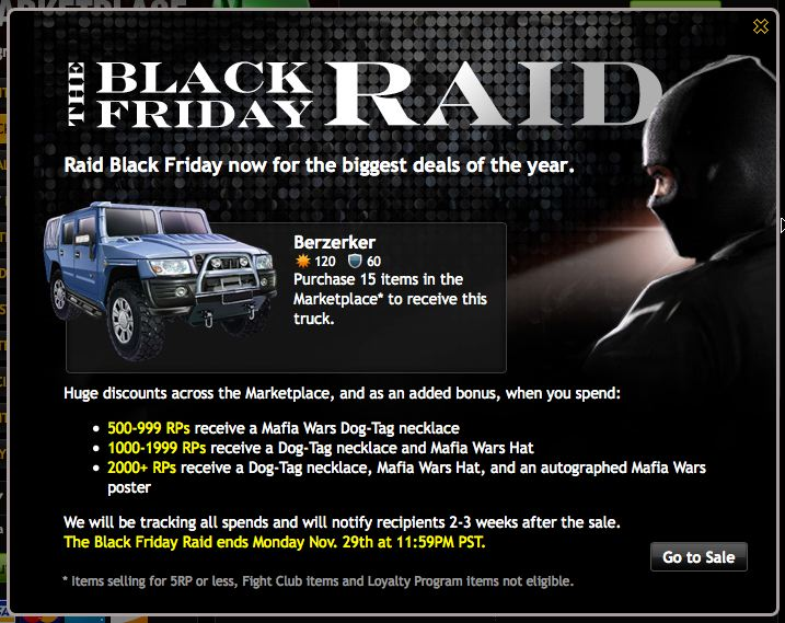 Black Friday Raid