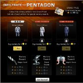 Mafia Wars: Infiltrate the Pentagon for exclusive Mastery items and Government Secrets
