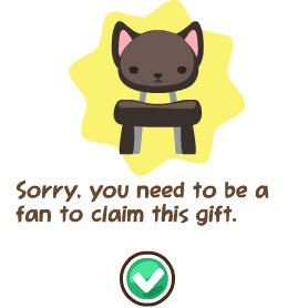 pet society free black kitty chair