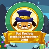 Pet Society Holiday Competition: Dress up the Mayor for Playfish Cash