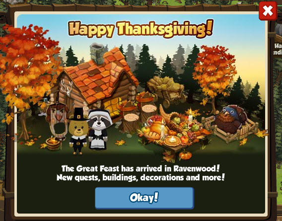 ravenwood fair thanksgiving items