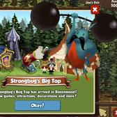 Ravenwood Fair Strongbug's Big Top: A skittering, slimy circus