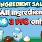 Restaurant City: All ingredients on sale for 3 Playfish Cash