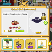 Restaurant City brings back the bats with Bleu Vampire Ste
