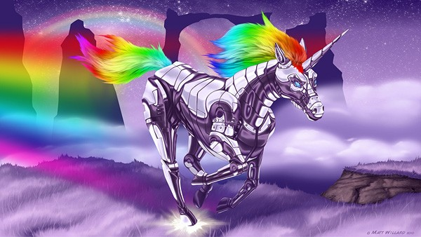 Matt Willard's Robot Unicorn