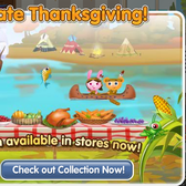 Have a Thankgiving dinner for your pet in PetVille