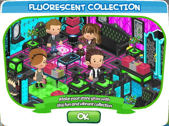 Fashion World Florescent Collection