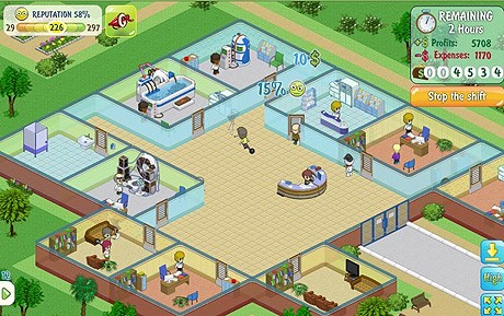 simply hospital on facebook - blog.games.com
