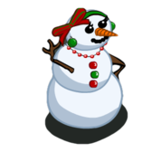 FarmVille Sneak Peek: Unreleased Snow Lady