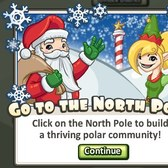 Social City: Create a home for Santa in the new North Pole District