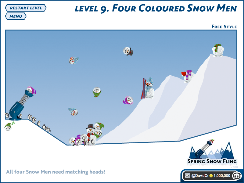 Game of the Day: Spring Snow Fling