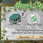 Go shopping in My Vineyard with player-run stores