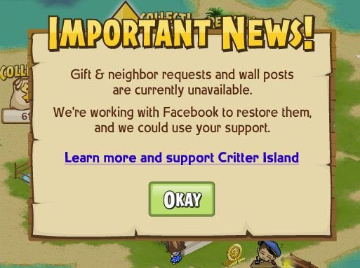 Critter Island fan page