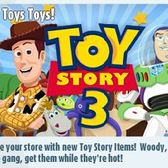 Market Street: Toy Story 3 items invade your store