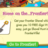 FrontierVille: New Shovel Hunt goal offers 10 free digs in Treasure Isle