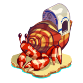 Treasure Isle Hermit Crab Relic now available to build