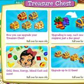 Treasure Isle Treasure Chests: Feed them gems for better daily rewards