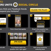Diversity through Facebook: USA Network's Social Circle pr