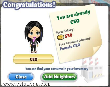 YoVille Female CEO